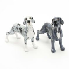 Great Dane Dog Ceramic Figurine Salt Pepper Shaker UnCrop Ears 00015 Ceramic Handmade Dog Lover Gift Collectible Home Decor Art and Crafts by Great Dane - madamepOmm -. $59.00. Great Dane Dog Lover Ceramic Original Handmade Hand Paint Salt and Pepper Shaker Figurine Ceramic Home Decor Collectibles  Made of ceramic porcelain high fired interior apply clear under-glaze, food safe painted with attention hand painted acrylic paint then apply clear gloss protected.  It's come ...