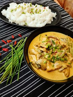 Thai Red Curry, Pork, Food And Drink, Ethnic Recipes, Treats, Diet, Dressmaking, Asia, Kale Stir Fry