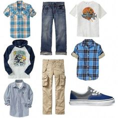Back to School Outfits Mix and Match Outfits for Boys - - Ideas for kids clothing - Kids Style Little Boy Fashion, Kids Fashion Boy, Tween Fashion, School Fashion, Back School Outfits, Teenage Girl Outfits, Boy Outfits, Fashion Outfits, Children Outfits
