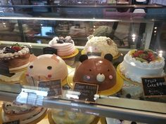Cute cakes at Korean bakery in dc