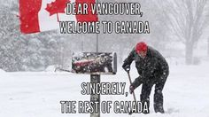Yeah, well... it's over now. So enjoy your shoveling, Rest of Canada!! Mwahaha!