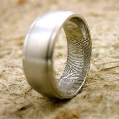 His ring, her fingerprint