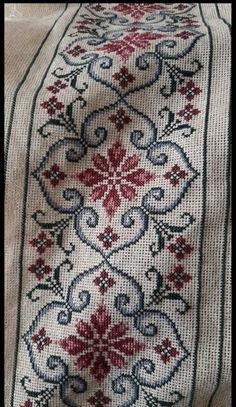 Hand Embroidery Design Patterns, Cross Stitch Designs, Bohemian Rug, Alphabet, Palestinian Embroidery, Crossstitch, Cushions, Diy, Model