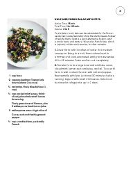 Kale and Farro Salad with Feta from Martha Stewart. YUM. So good.