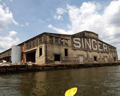 Singer Sewing Machine Factory, Newark Bay, Elizabeth, New Jersey by jag9889, via Flickr