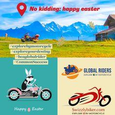 Kein Scherz: Frohes Oster-Wochenende No kidding: happy easter-weekend Vielen Dank allen, mit welchen ich, die Global Riders AG sowie Swizzlybiker stets in positiven und interessantem Austausch standen. Happy Weekend, frohe Ostern. Many thanks to all with whom I, the Global Riders AG and Swizzlybiker were always in positive and interesting exchange. Happy Weekend, Happy Easter. #explorebymotorcycle #exploreyourdestiny #CommonSuccess #beaglobalrider No Kidding, Easter Weekend, Happy Weekend, Happy Easter, Thankful, Success, Positivity, Bmw, Social Media