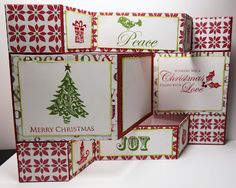 Busy with the Cricky   CTMH Christmas stamp set idea.