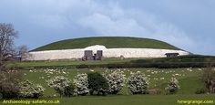 Ireland: Newgrange is over 5,000 years old.  A passage tomb built during the Neolithic or New Stone Age making it older than England's Stonehenge and Egypt's Great Pyramid of Giza. This is a well managed World Heritage Site (UNESCO). Plan a full day to visit Newgrange and Knowth.