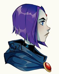 More Titans ❤️✨ . Raven Teen Titans Go, Teen Titans Fanart, Deathstroke, Girl Cartoon, Cartoon Art, Raven Fanart, Raven Beast Boy, Original Teen Titans, Rabe