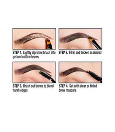 Eyebrow Gel Keep your misbehaving brows in place with our discreet and easy-to-use Eyebrow Gel! The lightweight, waterproof formula creates thicker, fuller, natural-looking brows and comes in five ver Nyx Eyebrow Gel, Eyebrow Makeup, Eyebrow Tips, Eyebrow Pencil, Skin Makeup, Eyeshadow Makeup, Bare Minerals Makeup, Tweezing Eyebrows, Waterproof Eyebrow