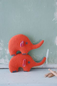 UPCYCLED CASHMERE STUFFIE Elephant Small/ various by Modifyd, $34.00