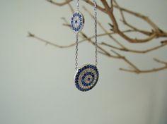 Turkish Evil eye necklace evil eye jewelry lucky by ebrukjewelry