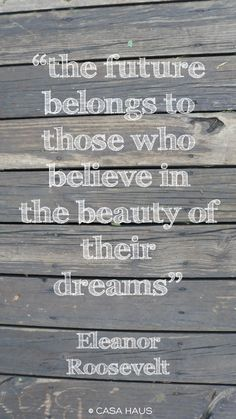The beauty of the dreams