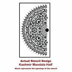 91-Kashmir-Mandala-Decal-Mandalas-Stencil-Half-Actual