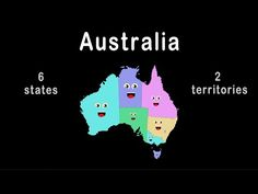 Australia States, Territories and Capitals! Learn about Australia's states, territories and capitals in the fun, animated, educational, music video. Created ...