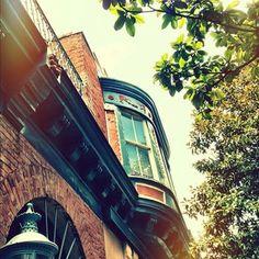 Savannah historical architecture