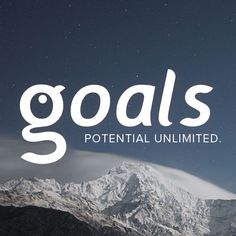 Your potential is unlimited with Goals.com!
