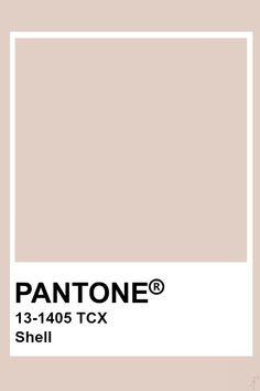 Pantone Shell Pantone colo palette for art and home decor Pantone Swatches, Color Swatches, Pantone Colour Palettes, Pantone Color, Colour Pallette, Colour Schemes, Decoration Inspiration, Color Inspiration, Paleta Pantone