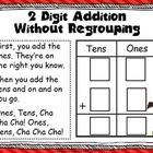 This 2 digit addition without regrouping workheet can be laminated and placed in a center or used as a reference sheet. You can use dice, number ti...
