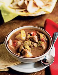 Maria's traditional New Mexico green chile stew.Maria's is the BEST! Great Recipes, Soup Recipes, Dinner Recipes, Cooking Recipes, Favorite Recipes, Delicious Recipes, Green Chile Stew, Good Food, Yummy Food