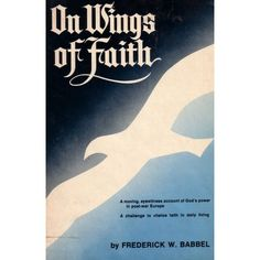 magnificent book of faith and miracles after world war II.