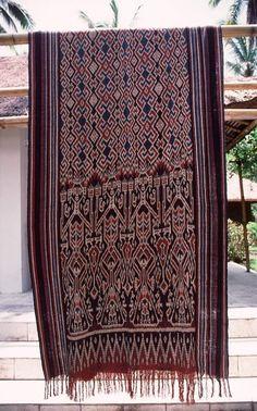Ikat from Toraja, Sulawesi, Indonesia