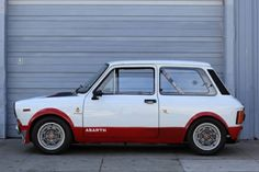 Learn more about Madness in Miniature: Streetable 1972 Autobianchi Abarth Racer on Bring a Trailer, the home of the best vintage and classic cars online. Vintage Racing, Vintage Cars, Antique Cars, Touring, Fiat Abarth, Small Cars, Classic Cars Online, Classic Mini, Retro Cars