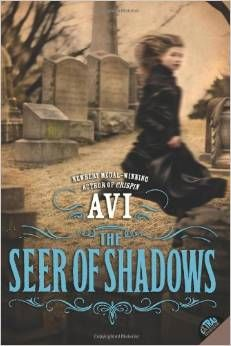 The Seer of Shadows by Avi -- a book review with a printable character sketch.