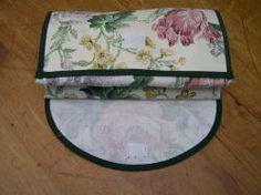 My nylon-lined folding shopping bag - sew-whats-new.com