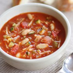 Minestrone Soup  | Cafe Colombia | Pune