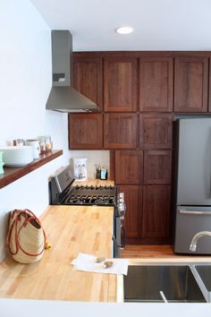 Custom cabinets and kitchen renovation by Brian Lee Carpentry-Small Town Cool