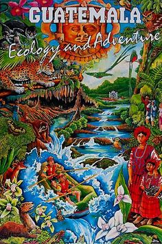 Guatemala Travel Poster  https://modesttravelingteacher.wordpress.com
