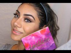 Makeup Tutorial using Tartelette in Bloom    Natalie MT. - YouTube