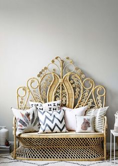 3 Relaxing Cool Ideas: Wicker Light Rattan how to make wicker furniture. Rattan Sofa, Rattan Furniture, Home Furniture, Furniture Design, Wicker Headboard, Wicker Bedroom, Furniture Ideas, Sofa Chair, Home Decor