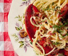 The Most Lobster-Packed Lobster Pasta Ever