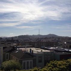 Sutro from Pacific Heights