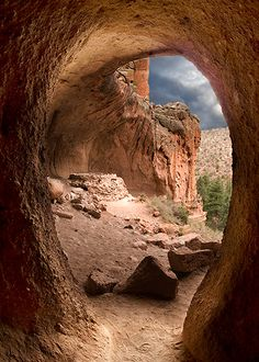 Cave and Kiva Bandelier National Monument, NM