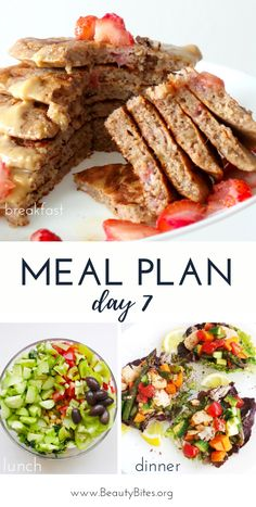 Clean Eating Challenge & Meal Plan (The First One Clean Eating Meal Plan, feat. Start the clean eating challenge, enjoy these healthy recipes to have more energy, lose weight and feel better overall! The plan in Clean Eating Challenge, Clean Eating Meal Plan, Eating Plans, Clean Eating Recipes, Clean Eating Snacks, Healthy Eating, Eating Habits, Clean Foods, Diet Smoothie Recipes