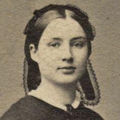 Remarkable Timeless Beauty Dark Hoopskirt Civil War Era 1860s by Wood's NY | eBay
