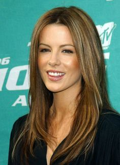Kate Beckinsale - nice hair color. I can finally color my hair now that breastfeeding is over yay!!