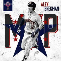 Huge night for this man in the American Leagues win in the 2018 MLB All Star Game! Crush City, World Series 2017, Minute Maid Park, American League, Nba Basketball, Big Game, Houston Astros, Texans, All Star
