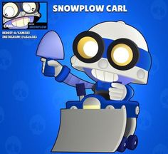 Best Picture For Brawl Stars Wallpaper tick For Your Taste You are looking for something, and it is Star Wallpaper, Wallpaper Iphone Disney, Star Character, Snow Plow, Clash Royale, Cartoon Games, Star Art, New Skin, Star Designs