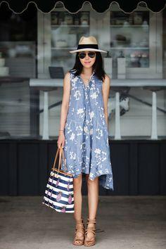 SUMMER SHIRT DRESS | FitFabFunMom