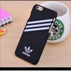 Adidas black case Cute black adidas unisex hard case for iPhone 6 new in package…