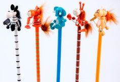 Animal pencils from Lumela afrika - 9612 African Crafts, Goodies, Kids, Animals, Sweet Like Candy, Children, Animales, Treats, Boys