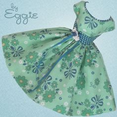 Mint Cooler - Vintage Reproduction Repro Barbie Doll Dress Clothes Fashions #Fanfare