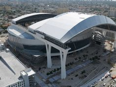 The new Miami Marlins stadium filled with excitement and rich in culture from Miami's large baseball community