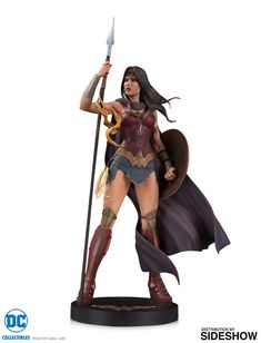 DC Comics-Bombes-Wonder Woman Deluxe Statue