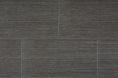 "Kaska Element Series 12"" x 24"" Porcelain Tile in Black"
