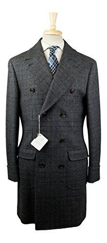 """Original Brunello Cucinelli Hanger Included Full Button Closure Full Length 2 Flap Patch Pockets """"Brunello Cucinelli"""" Inscribed Buttons Partial Lining 100% Wool Lining: 100% Cupro Size 50 European = Size 40 U.S = Size Medium Measurements: Shoulders: 18.75"""" Chest: 21.25""""...  More details at https://jackets-lovers.bestselleroutlets.com/mens-jackets-coats/wool-blends-mens-jackets-coats/product-review-for-brunello-cucinelli-gray-wool-double-breasted-jacket-c"""